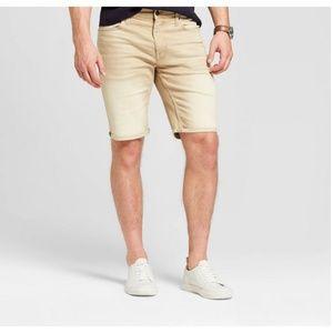 Goodfellow Men's Denim Shorts Slim Hip Total Flex